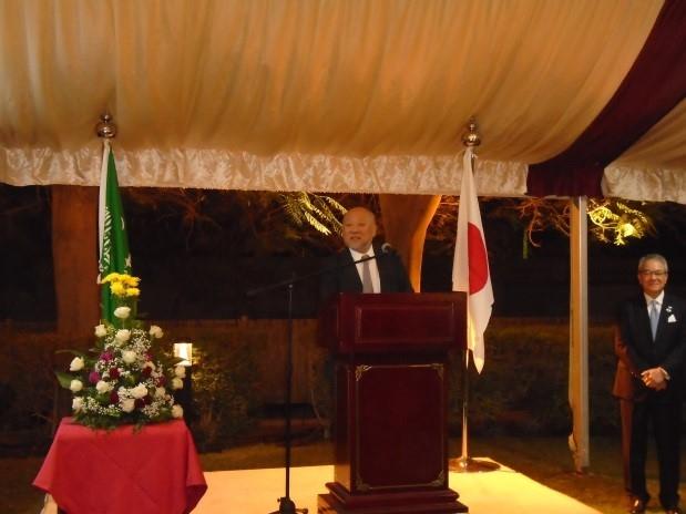حفل افتتاح شركة ميتسوي سوميتومو المصرفية Embassy Of Japan In Saudi Arabia